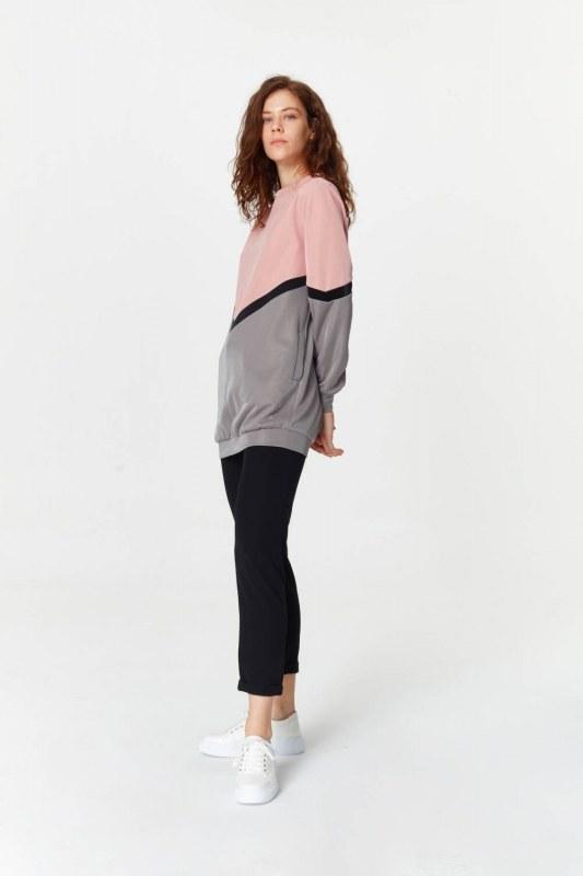 Renk Geçişli Sweatshirt 5910