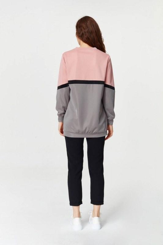 Renk Geçişli Sweatshirt 5911