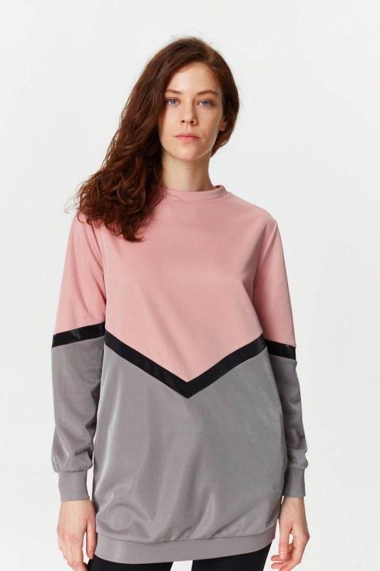 Renk Geçişli Sweatshirt 5912