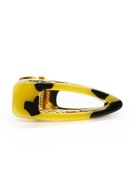 MIZALLE Colorful Snap Hair Clips (Yellow)