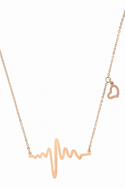 MIZALLE - Rhythm Steel Necklace (St) (1)