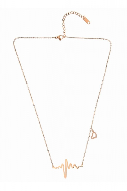Rhythm Steel Necklace (St)