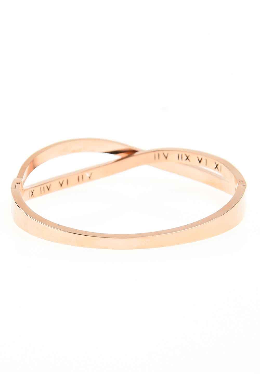 MIZALLE Roman Numerical Bracelet (St) (1)