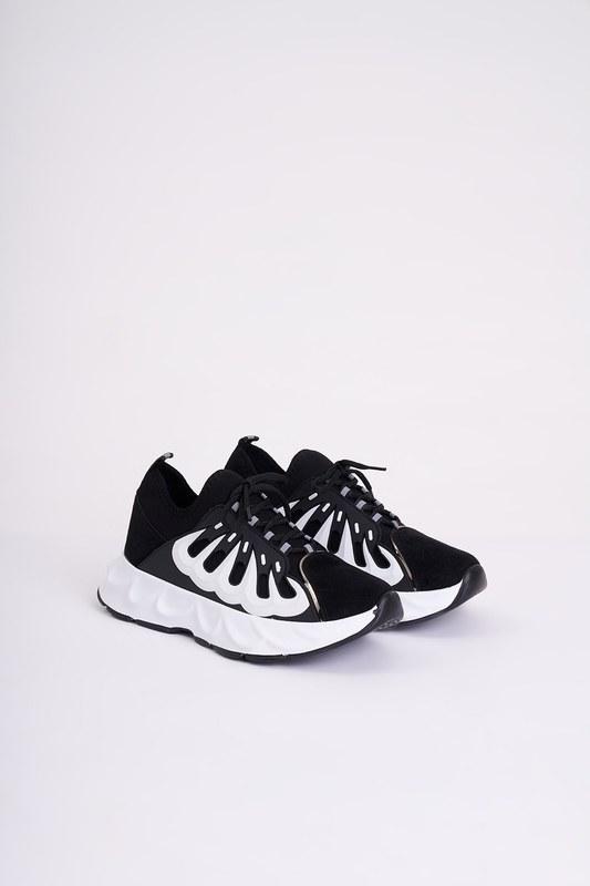 Rubberlı Scuba Spor Ayakkabı (Siyah)