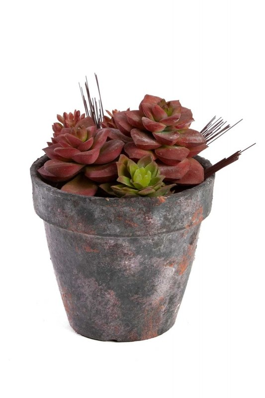 Potted Artificial Flower (18X18X15)