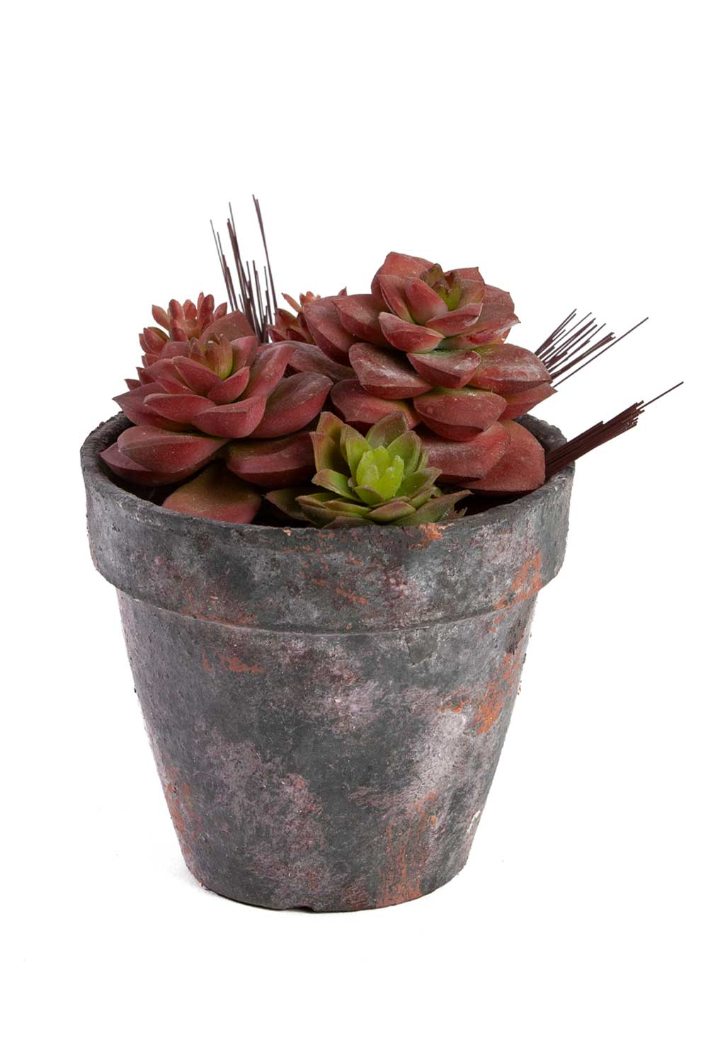 MIZALLE Potted Artificial Flower (18X18X15) (1)