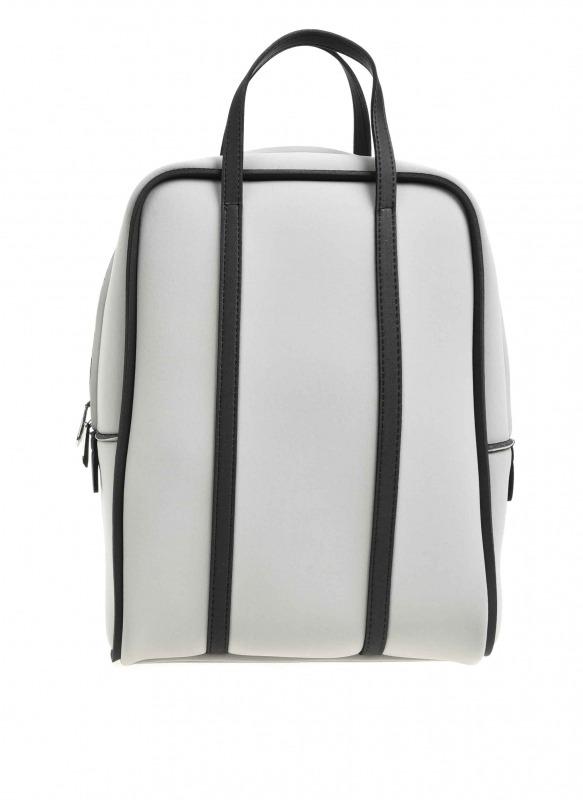 Large Fabric Backpack (Grey)