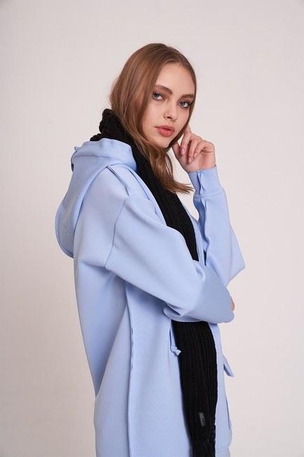 MIZALLE YOUTH - Scuba Sweatshirt (Blue) (1)