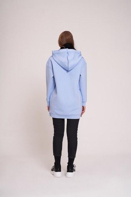 Scuba Sweatshirt (Mavi) - Thumbnail