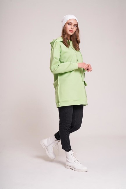 Scuba Sweatshirt (Yeşil) - Thumbnail