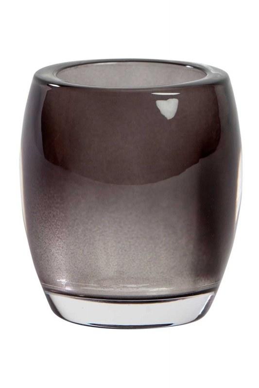 شفاف ، حامل شموع زجاجي