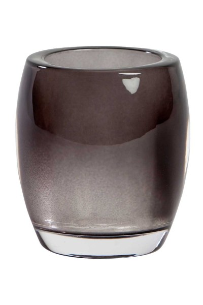 Transparant Glass Candle Holder - Thumbnail