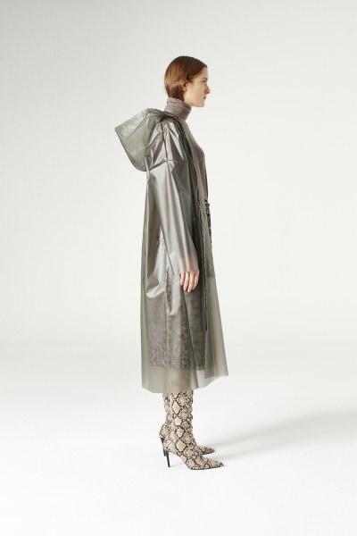 Transparent Raincoat (Stone) - Thumbnail