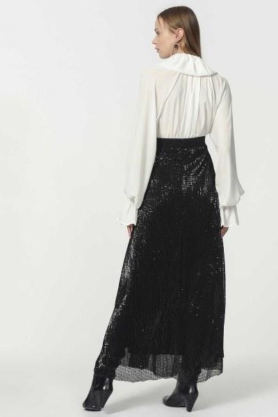 Sequin Skirt (Black) - Thumbnail