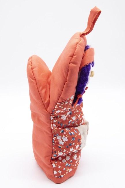 MIZALLE HOME - Sevimli Fırın Eldiveni (Kırmızı) (1)