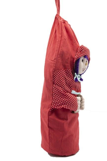 MIZALLE HOME - Cute Bag Holder (Red) (1)