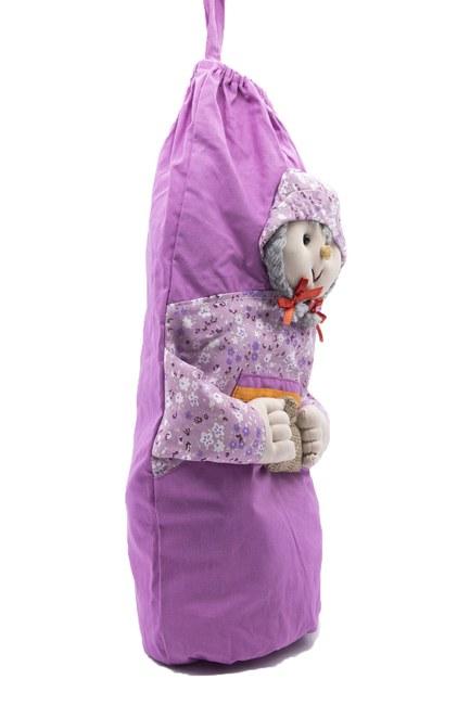 MIZALLE HOME - Cute Bag Holder (Lilac) (1)