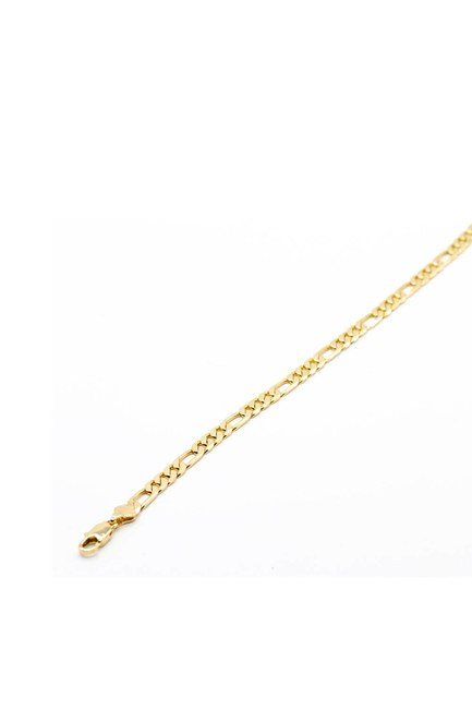 Mizalle - Shiny Chain Thick Necklace (Yellow) (1)