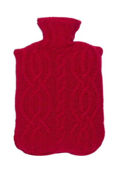 MIZALLE Sıcak Su Torbası Kılıfı (Kırmızı)