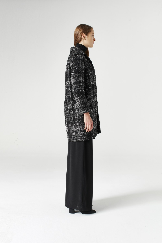 MIZALLE Silvery Snl Jacket (Grey) (1)