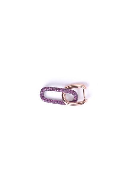 MIZALLE - Single Earrings (Pink) (1)