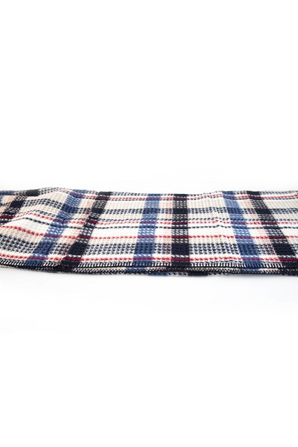 MIZALLE HOME - بطانية واحدة (الأزرق الداكن) (1)