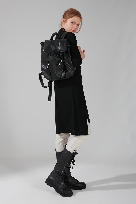 Şişme Sırt Çantası (Siyah)