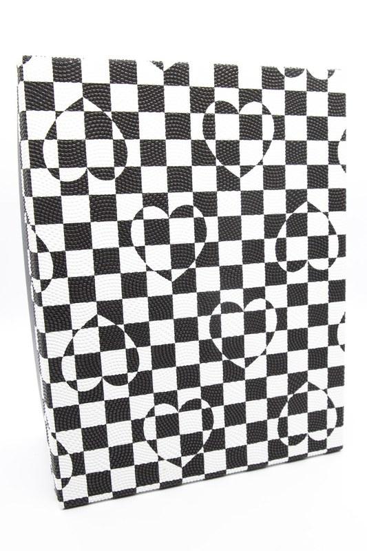 Siyah Beyaz Kare Kutu (20X28)