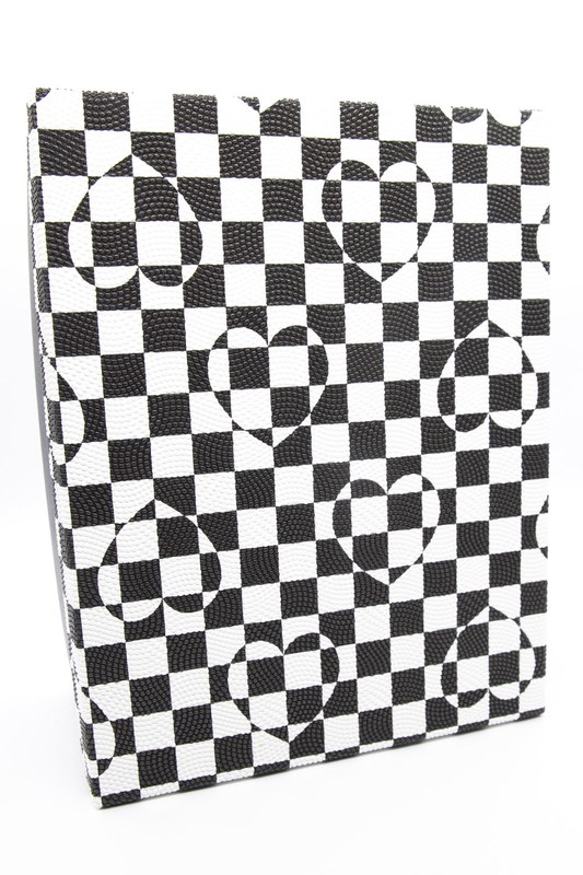 Siyah Beyaz Kare Kutu (8X16)