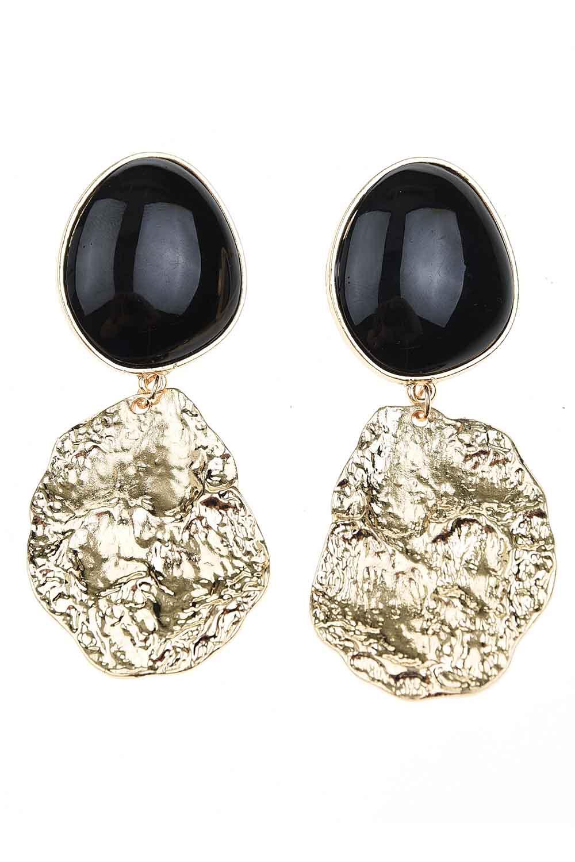 MIZALLE Black Dangling Earrings (St) (1)