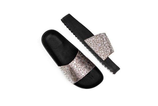 MIZALLE - Soft Sole Slippers (Platinum) (1)