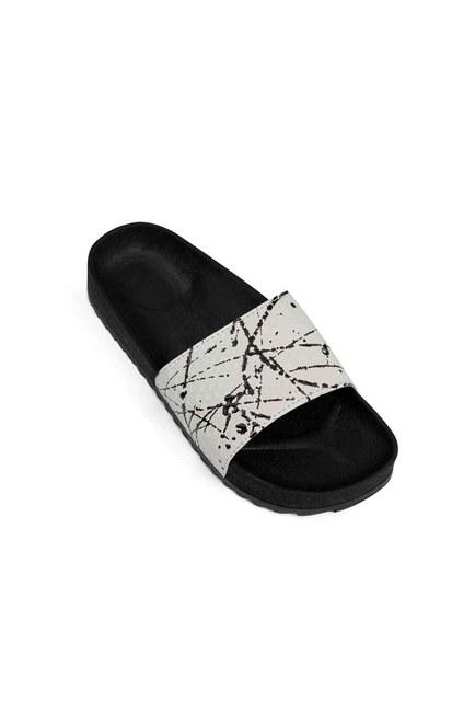 MIZALLE Soft Sole Slippers (White)