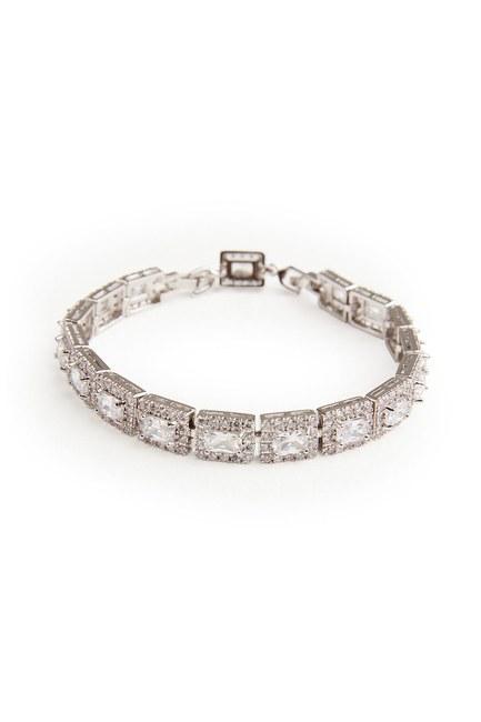 Square Stone Bracelet - Thumbnail