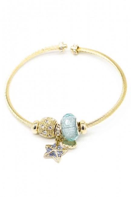 Star Themed Bracelet (Blue) - Thumbnail