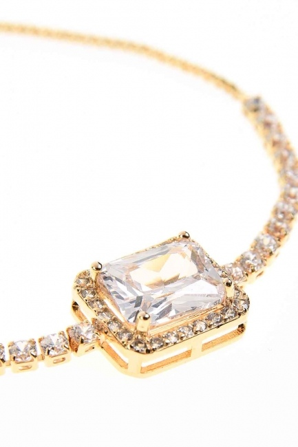 Stone Bracelet (Yellow) - Thumbnail