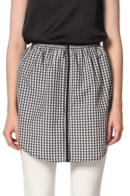 MIZALLE - Complementary Skirt (Plaid) (1)
