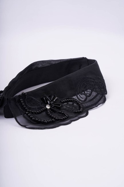 MIZALLE - Design Accessory Collar (Organza) (1)