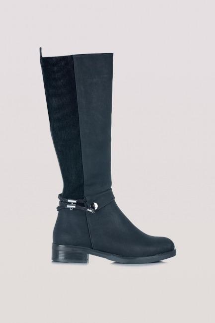 Tasarım Çizme (Siyah) - Thumbnail