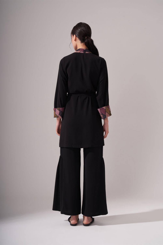Tasarım Siyah Kimono