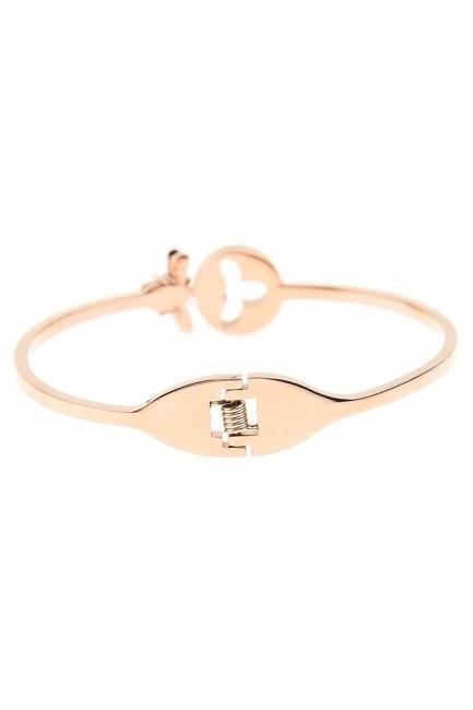 MIZALLE - Bee Detailed Steel Bracelet (St) (1)