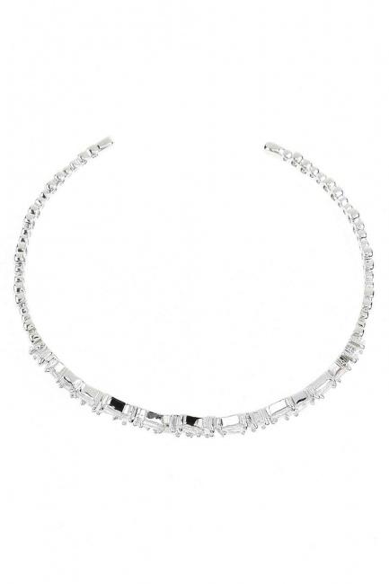 MIZALLE - Stone Bracelet (Silver) (1)