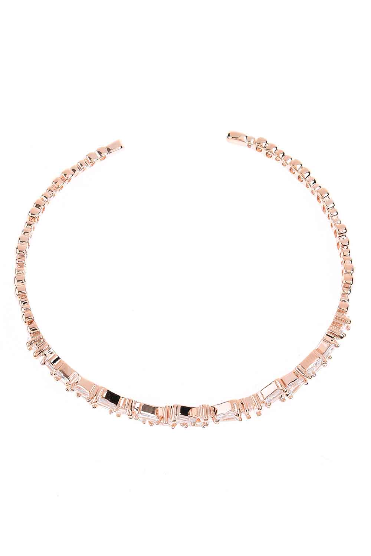 MIZALLE Stone Bracelet (Rose) (1)