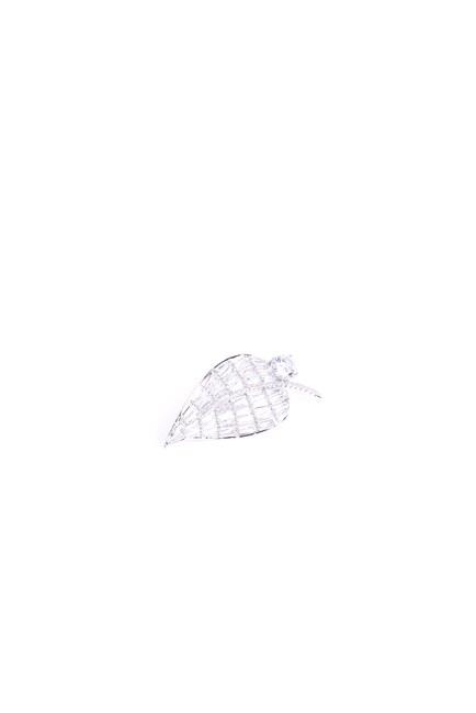 Taşlı Broş (Gri) - Thumbnail