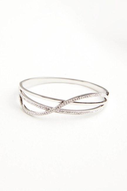 MIZALLE - Taşlı Çelik Bileklik (St) (1)