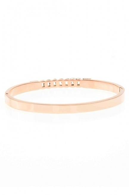 MIZALLE - Steel Chain Bracelet (St) (1)