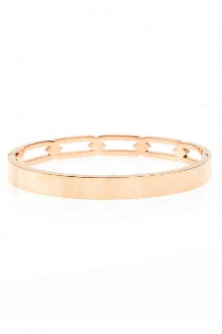 MIZALLE - Chain Steel Bracelet (St) (1)
