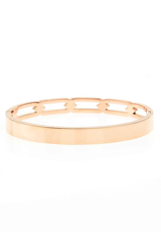 MIZALLE Chain Steel Bracelet (St) (1)