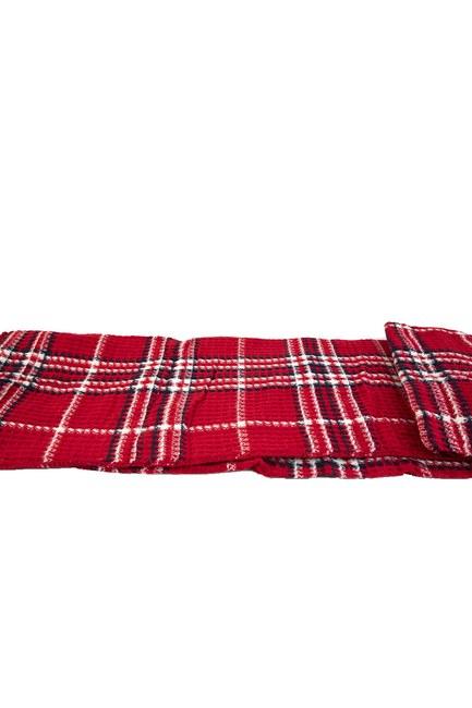 MIZALLE HOME Tek Kişilik Battaniye (Kırmızı)