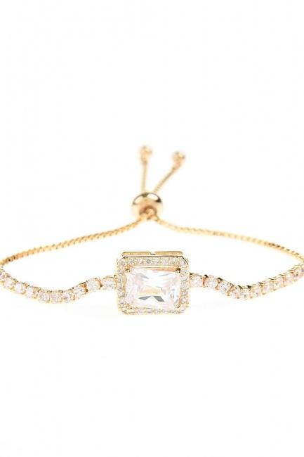 Stone Bracelet (Gold) - Thumbnail