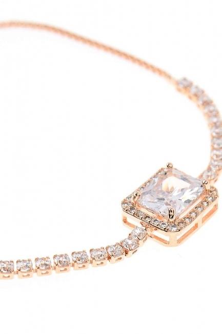 Stone Bracelet (Rose) - Thumbnail